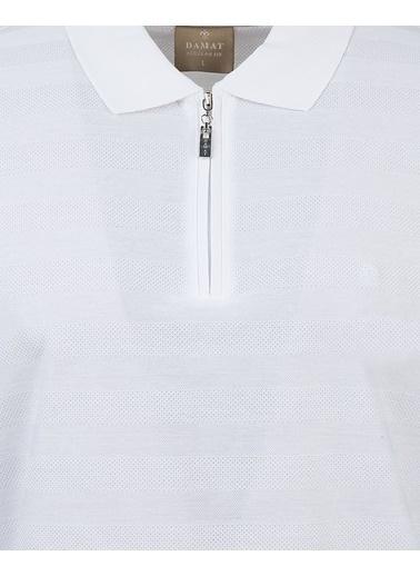 Damat Tişört Beyaz